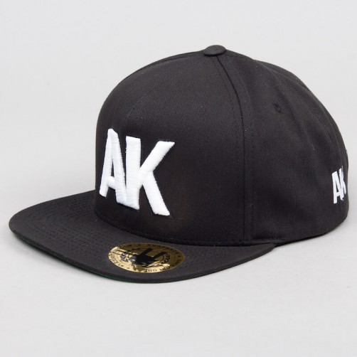 AK snapback - black/white