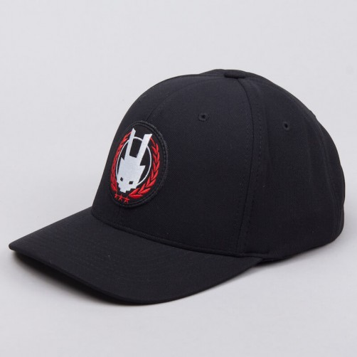 AK LOGO basecap - black/red