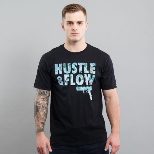 HUSTLE & FLOW FOTO II tee, black