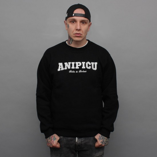 ANIPIČU, WE crewneck, black