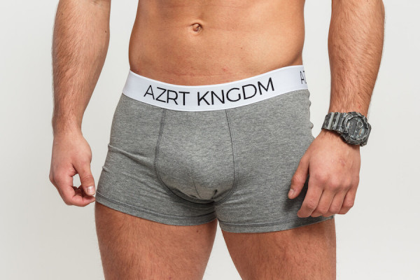 AZRT KNGDM boxerky – black & grey, 2 pack