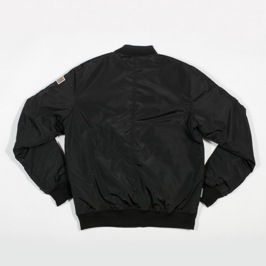 Bunda AK BASIC bomber, black/black