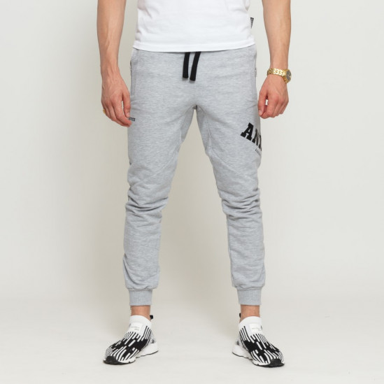 ANIPIČU slimfit sweatpants, grey/blck