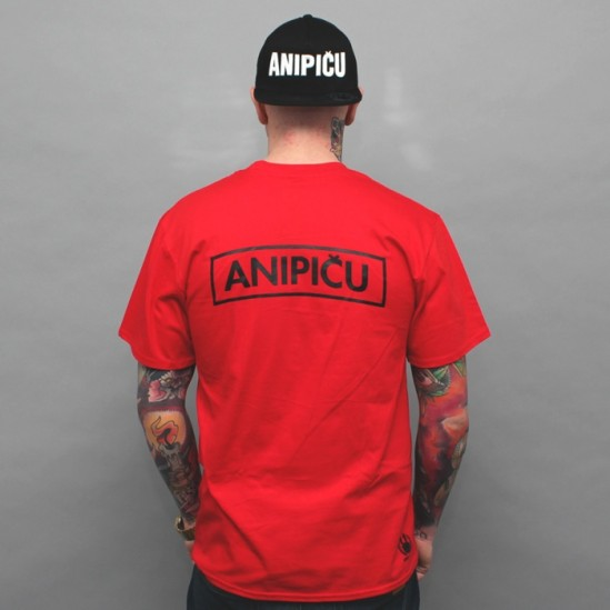 ANIPIČU BACK 2016 S tričko - red/black